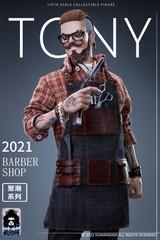 YUANXINGSHI JC-001 1/6 Oil head Barber Tony Figure