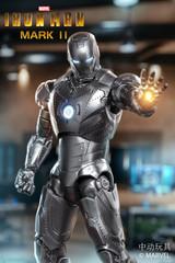 ZD Toys Iron Man 2 Mark II MK2 Light Up Version 18cm Figure