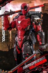 Hot Toys Armorized Warrior 1/6 Armorized Deadpool Figure CMS09D42B Special Edition