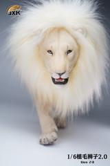 JXK 1/6 Scale Lion 2.0 White Planted Hair JXK082B