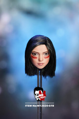 MR.TOYS  1/6 Gril Head Sculpt with Movable Eye Ball MT2020-07B