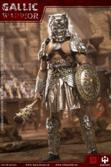 HAOYUTOYS HH18036A Gaul Warrior 1/6 Imperial Army Hunting Ground Fighter Silver version