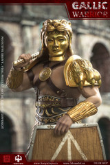 HAOYUTOYS HH18036B Gaul Warrior 1/6 Imperial Army Hunting Ground Fighter Gold version