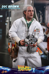Hot Toys Doc Brown Back to The Future MMS609