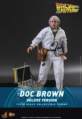 Hot Toys Doc Brown (Deluxe Version) Back to The Future MMS610