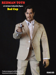 REDMAN TOYS  The Professional Bad Cop Collectible Figure RM035
