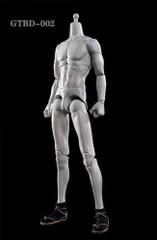 GAMETOYS GTBD-002 1/6 Grey White Male Slim Body