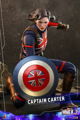 Hot Toys Captain Carter What If...? TMS059 1/6th scale Collectible Figure