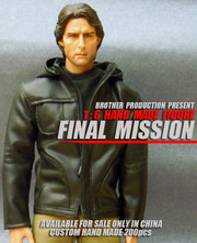 Brother Production 1/6 Custom Hand Made Tom Cruise figure  FINAL MISSION
