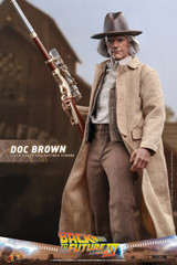 Hot Toys Doc Brown Back to the Future Part III MMS617 1/6 Figure