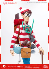 Blitzway Wally Where's Wally 5PRO-MG-20301 1/6 Action Figure