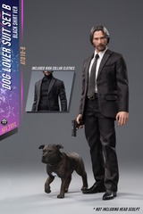 Ace Toyz Dog Lover Suit 1/6 Scale Black Shirt Version AT010B