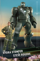 Hot Toys What If...? The Hydra Stomper and Steve Rogers Collectible Set TMS060