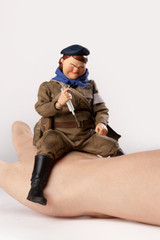 POPTOYS 1/12 Fat Sister GBS021 Bean-Gelo WWII