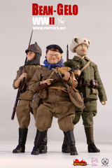 POPTOYS BGS023 1/12 Sniper Zhuang, Fat Sister, and Anton Combo Set