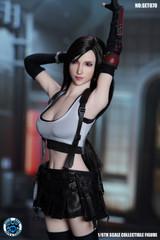 SUPER DUCK SET070 1/6 Fantasy Combat Girl Head Sculpt + Costume Set