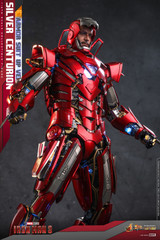 Hot Toys Iron Man 3 Silver Centurion (Armor Suit Up Version) MMS618D43
