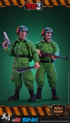 TUNSHI STUDIO SNK 1/12 METAL SLUG III REBEL SOLDIER 2 FIGURE SET