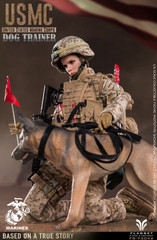 Flagset USMC Dog Female Trainer 1/6  Figure FS-73042