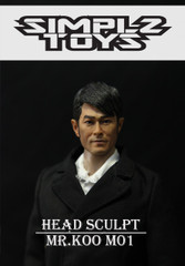 SIMPLZ TOYZ 1/6 Figure Head Sculpt-MR.KOO M01 Louis Koo Tin-lok