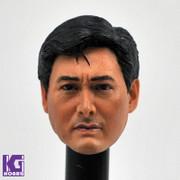 1/6 Chow Yun Fat  Action Figure Head Sculpt