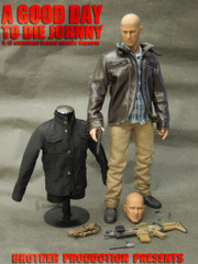 Brother Production Custom 1/6 BRUCE WILLIS action figure-A GOOD DAY TO DIE JOHNNY