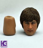 1/6 Custom CIAN Action Figure Head Sculpt Norris from Way of Dragon