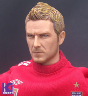 1/6 Custom Head Sculpt-David Beckham with Tattoo