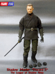 Figure Club The League of Shadow Ninja Shadow Master Liam Neeson 1/6 figure