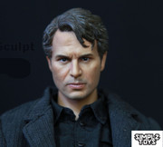 SIMPLZ TOYS 1/6 Figure Head Sculpt-M08 Mr. Ruffalo