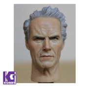 Headplay 1/6 Figure Head Sculpt-Clint Eastwood