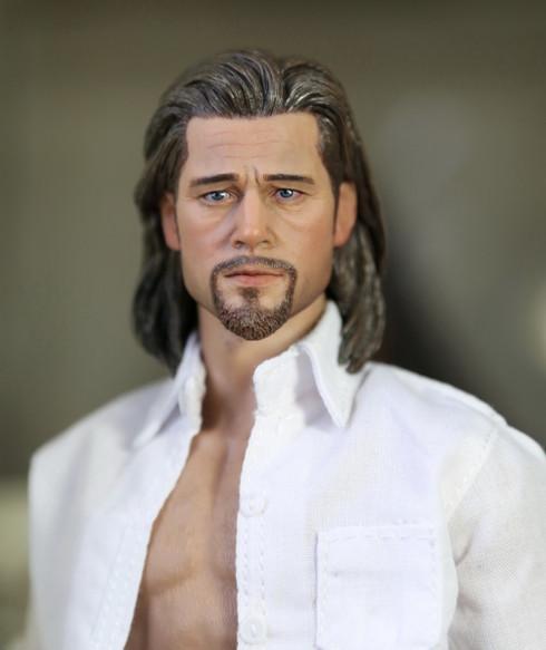 Eleven 16 Brad Pitt Akcijska figura Glava kip - Kghobby trgovina z igračami in modeli-1014