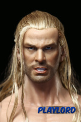PLAYLORD 1/6 Real Hair Head Sculpt-Chris Hemsworth