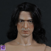 PLAYLORD 1/6 Real Hair Head Sculpt-Japanese samurai Takeshi Kaneshiro