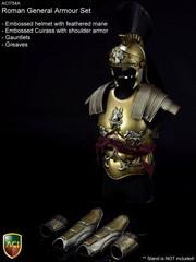 ACI Toys 1/6 Roman General Armour Set