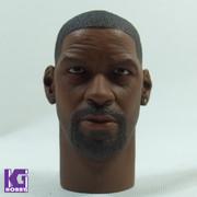 Super Duck 1/6 Custom Head Sculpt-Denzel washington, The training