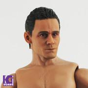 First Rate Tom Hiddleston 1/6 scale head sculpt