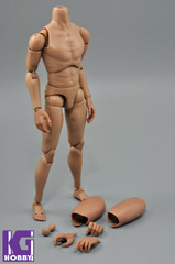 Custom 1/6 Nude Action figure Body-Narrow Shoulder with Neck