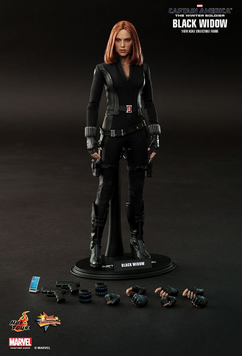 Hot Toys Mms239 Captain America The Winter Soldier Black Widow 1 6 Action Figure Kghobby Toys And Models Store