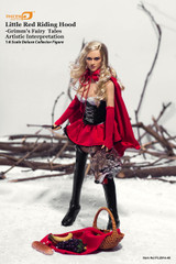 Phicen:1/6 Little Red Riding Hood Grimm's Fairy Tales Artistic Interpretation Deluxe 1:6 scale Collector Figure (PL2014-48)