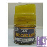 Mr Hobby Mr. Color GUNZE MODEL COLOR PAINT 10ml 48 CLEAR YELLOW