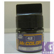 Mr Hobby Mr. Color GUNZE MODEL COLOR PAINT 10ml 42 MAHOGANY BROWN