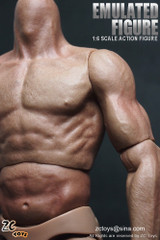 ZC Toys 1/6 Scale Muscular Nude action figure body