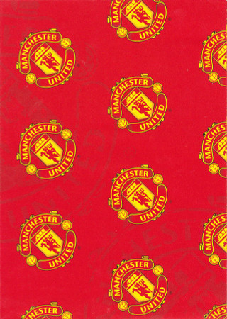 Manchester United Giftwrap