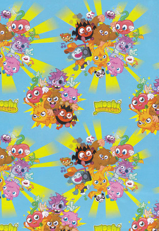Moshi Monsters Giftwrap