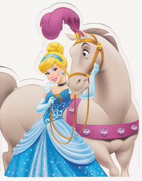 Disney Princess - Cinderella StandUp Greeting Card