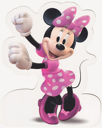 Minnie Mouse - StandUp Greeting Card