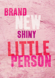 New Little Person Card - Pink