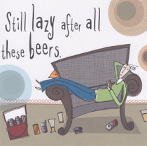 Alcohol \ Beers Greeting Card - Born To Shop