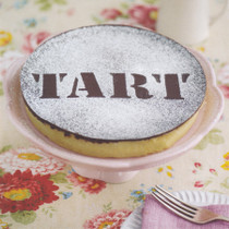 Tart Greeting Card - Photographic